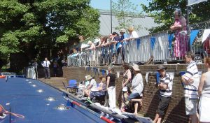Canalside servie at Ware Festival