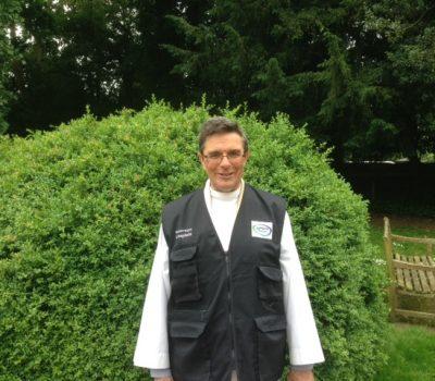 Revd Mike Saunders Waterways Chaplain