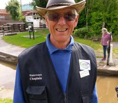 Revd Stephen Carter Waterways Chaplain