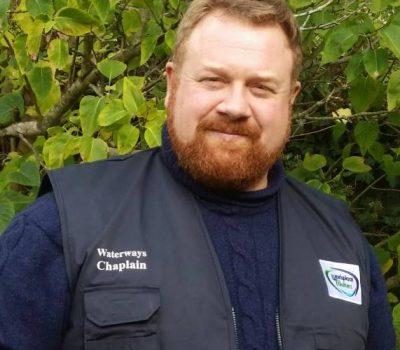 Revd Will Briggs, Waterways Chaplain