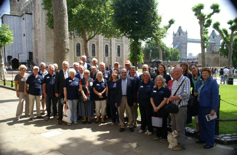 Waterways Chaplain 10th Celebration at Tower of London