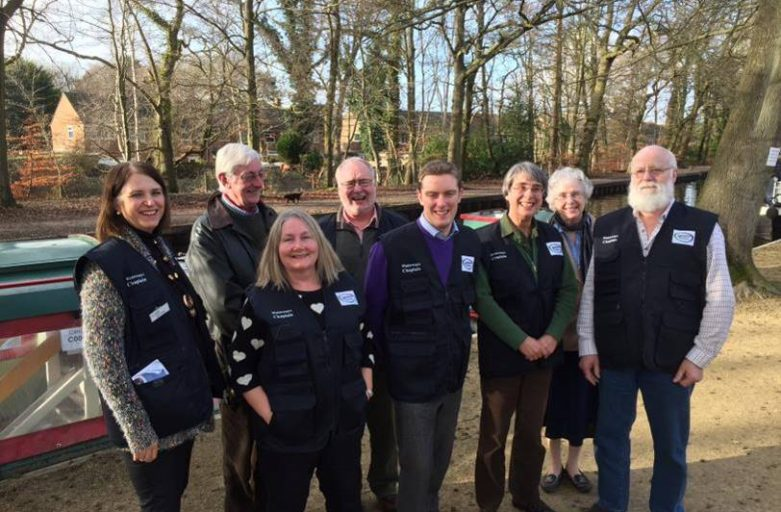 New Waterways Chaplains team on the Wey and Basingstoke