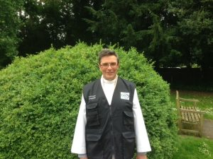 Revd Mike Saunders Waterways Chaplain