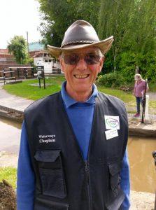 Revd Steve Carter Waterways Chaplain