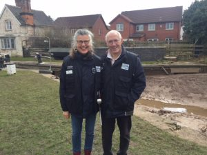 Waterways Chaplains joing CART to help at Middlewich breach 2018