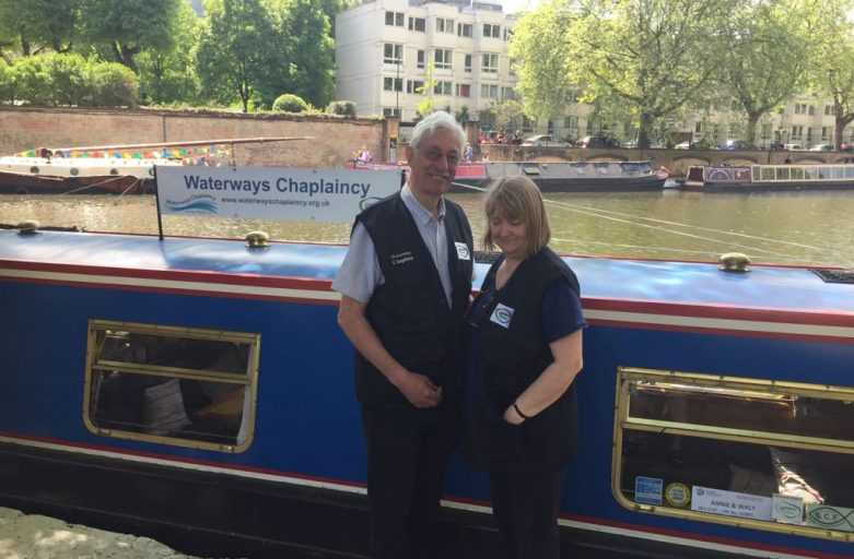 Waterways Chaplains Diane and David Pickford