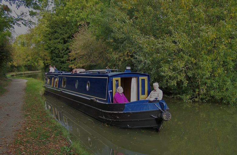 Waterways Chaplains aiding exhausted towpath user