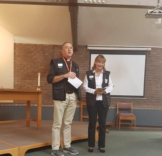 Lead Waterways Chaplain Barbara Davis on her commissioning