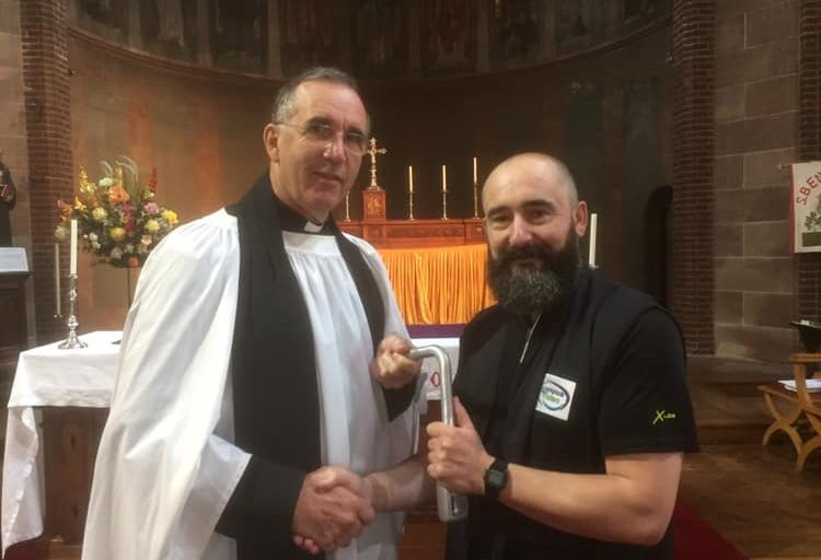 Jolyon Walford commissioned as a Waterways Chaplain in Birmingham