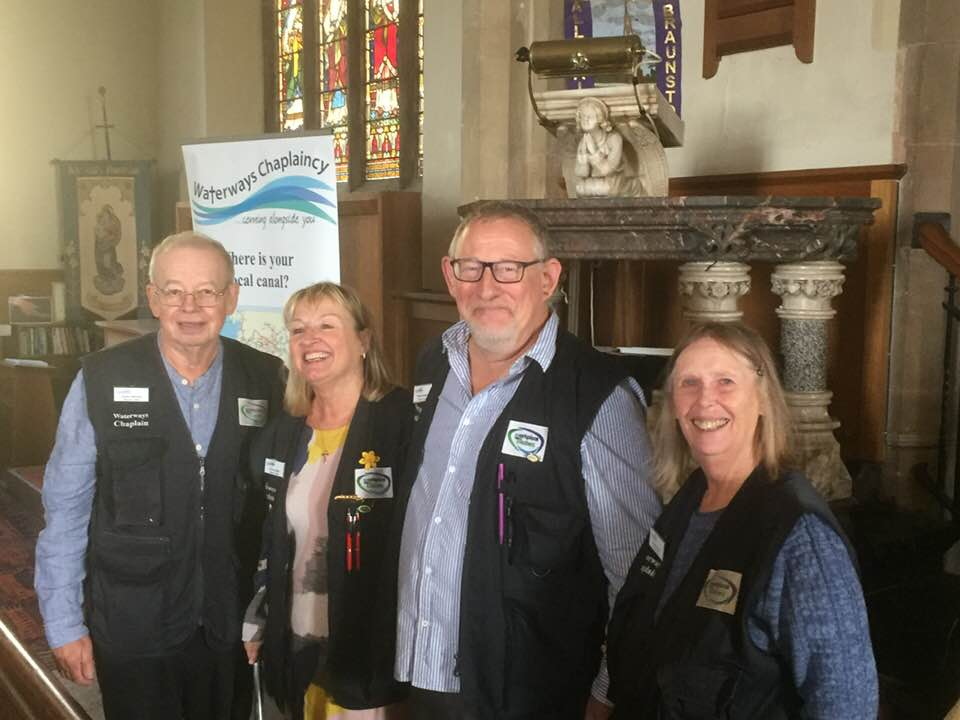 Fergus and Kim McCloughry Commissioned as Waterways Chaplains