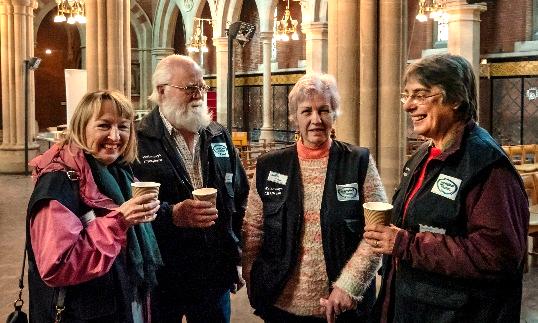 Waterways Chaplains are a Team of Christian Volunteers