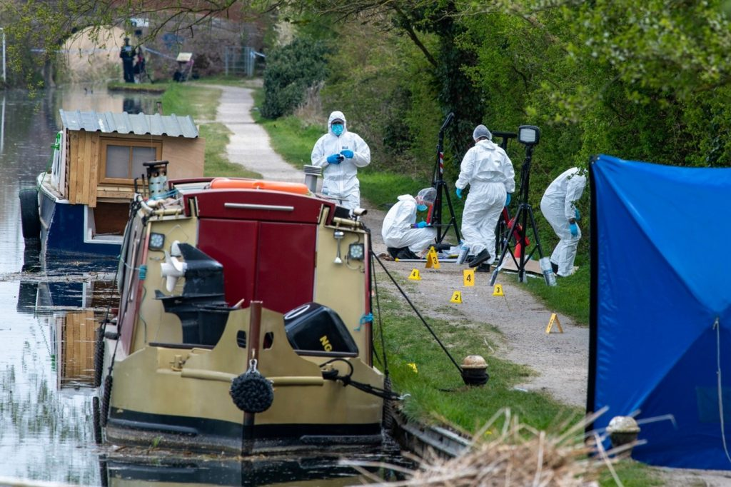 Canal and River Trust worker  was apparently murdered going about his lawful business
